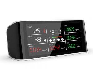 Analizatoare calitate aer Aparat de monitorizare a calității aerului DM69
